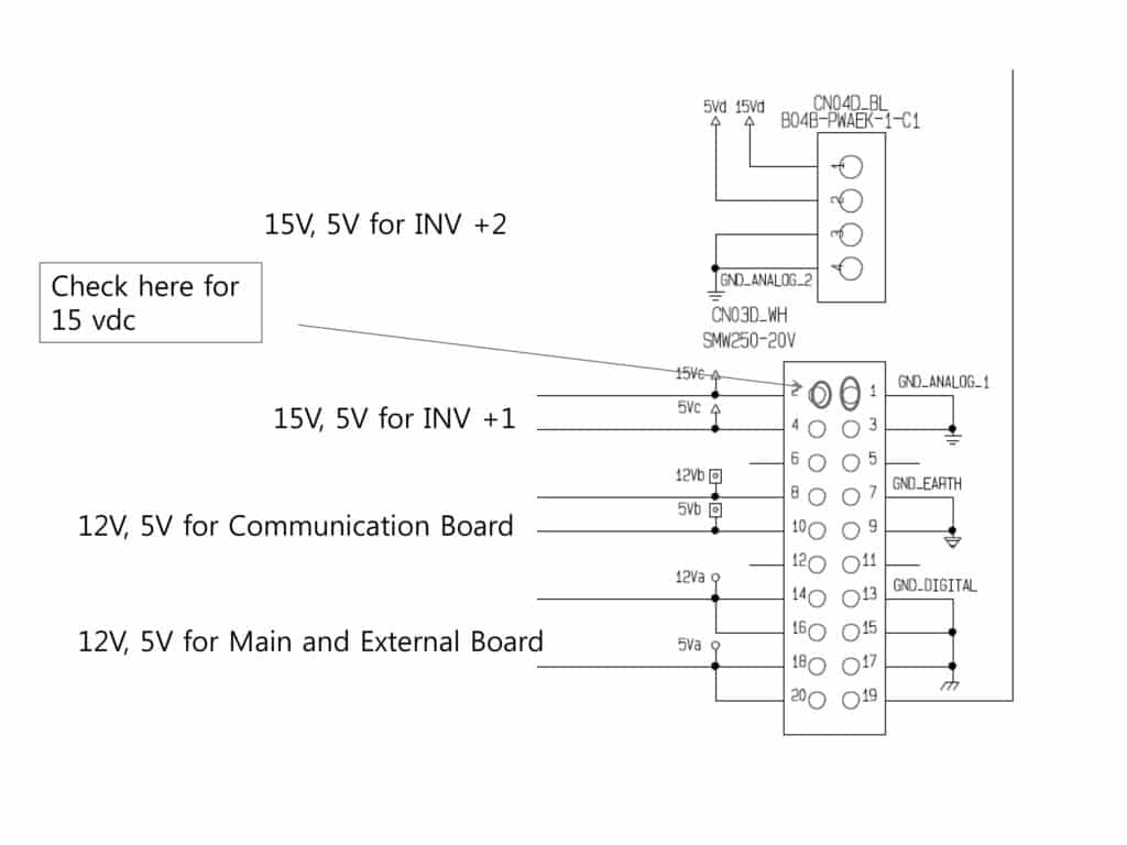 Diagram for LG MV IV power board