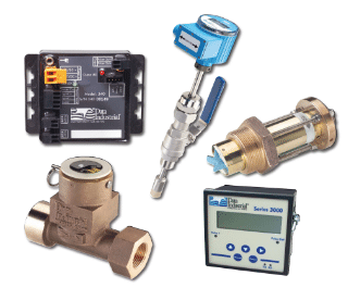 Industrial Impeller flow meters